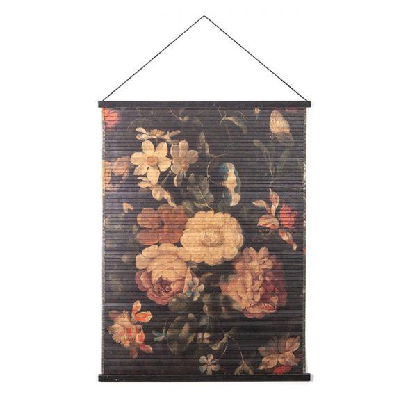 Tableau mural Fleurs Miyagi