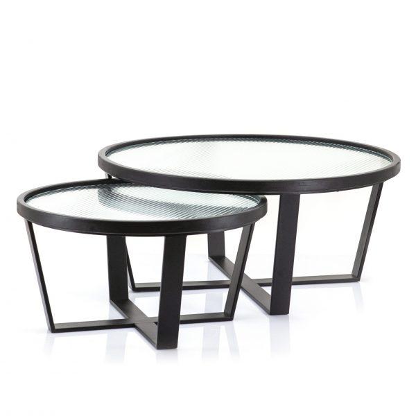 Set de tables basses Loup
