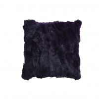 Coussin en peau de lapin - 45x45cm