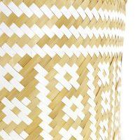 Paniers bamboo naturel Panama - Set de 3