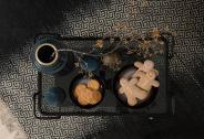 Desserte Joya - Metal Fin Noir