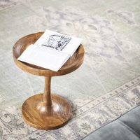 Table d'appoint Totum Brown