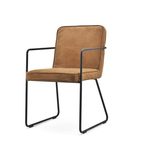 Chaise Charly - Cognac