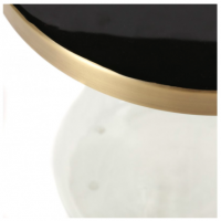 Table d'appoint Enzo - Verre transparent